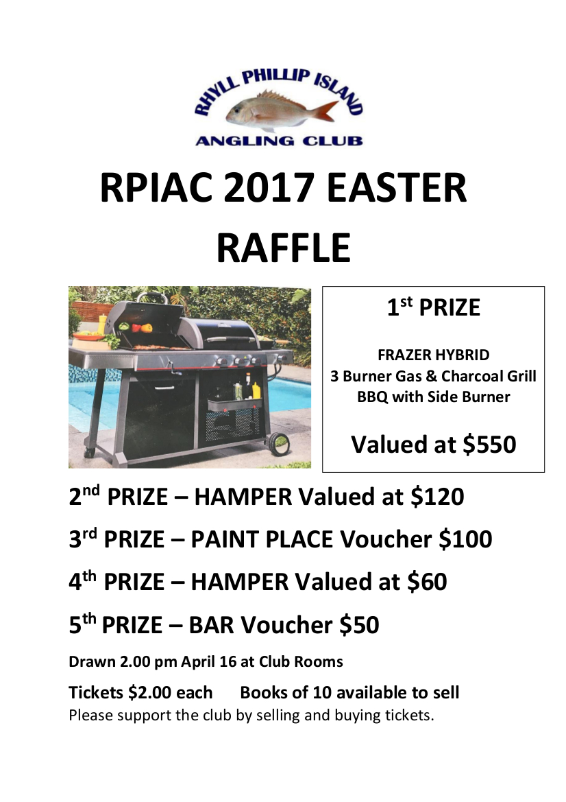 Easter Raffle Flyer